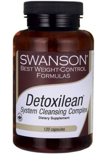 Swanson Best Weight-Control Formulas Detoxilean System Cleansing Complex 120Caps