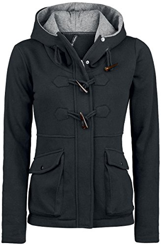 Forplay Toggle Jacket Felpa jogging donna nero XL