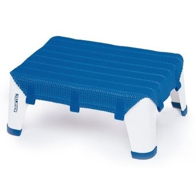 Tritthocker AQUATEC STEP, blau