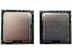 Matching Pair Intel Xeon X5650 6 Core Processor 2.66GHz 6.4GT/s 12MB Smart Cache Socket-1366 TDP 95W SLBV3 BX80614X5650