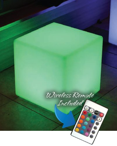 Main Access 131781 Color Changing Waterproof Led Light - Cube