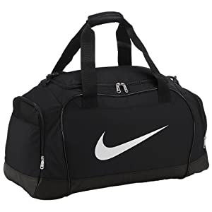 Nike Club Team Sports Bag - 58.5x29x30cm, Black (Black/White)