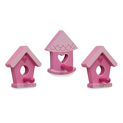 Birdhouse Wall Decor/Pegs