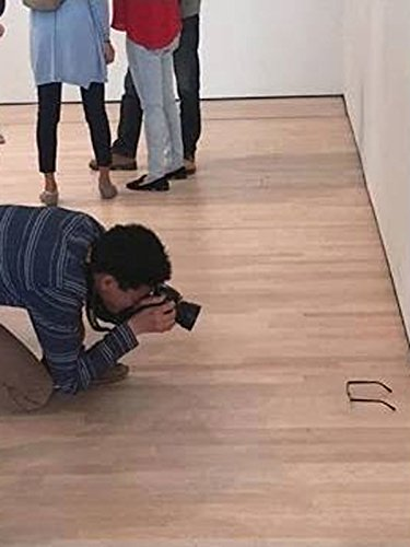 Art Buffs Fooled By Glasses On Floor
