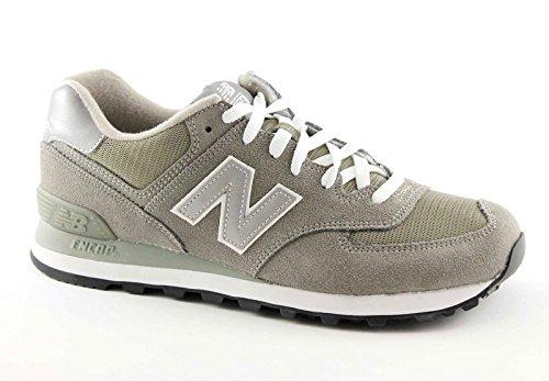 New Balance - Baskets basses - Homme - Sneakers 574 Suede et Mesh Gris pour homme - 43