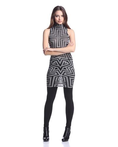 Gareth Pugh Women's Sleeveless Dress  - Grey/Black