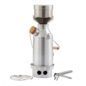 Camp Stove by Kelly Kettle. This Small Aluminum Trekker Cook Stove Complete Kit, is... by Kelly Kettle