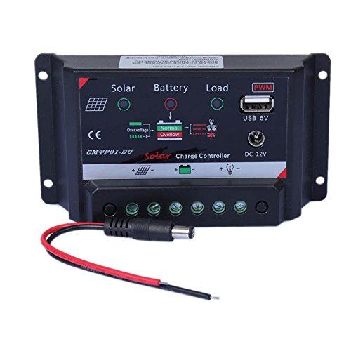 Sun YOBA Solar Charge Controller 20A 12V & DC 12V USB 5V Power (Solar Panel Voltage Controler compare prices)