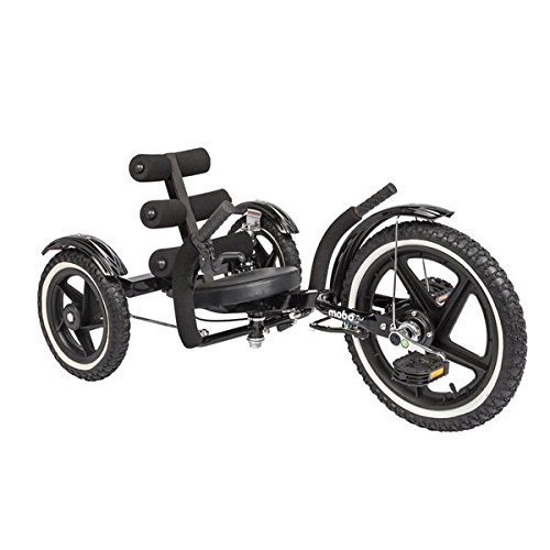 Mobo Mobito Sport The Ultimate Three Wheeled Youth Cruiser Bold Black Color (21 Inch Chrome Rims compare prices)