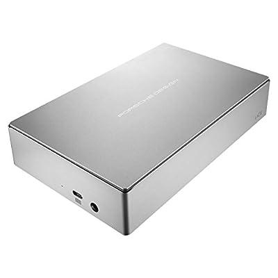 LaCie Porsche Design 8TB USB-C Desktop Hard Drive STFE8000100