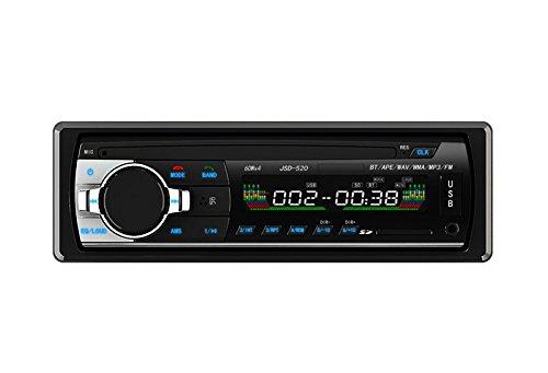 Bessky® Bluetooth Car Stereo Audio 1 DIN In-Dash FM Aux Inp