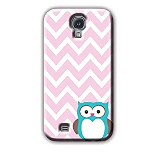 Amazon.com: Owl (Chevron Stripes 2) Galaxy S4 Mini Case: Cell Phones