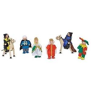 Melissa & Doug Castle Wooden Figure Set