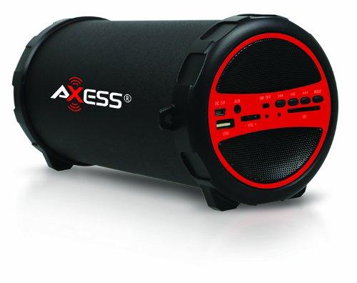 Axess SPBT1031-RD Portable Bluetooth Photo