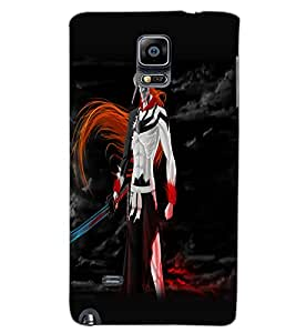 SAMSUNG GALAXY NOTE EDGE WARRIOR Back Cover by PRINTSWAG