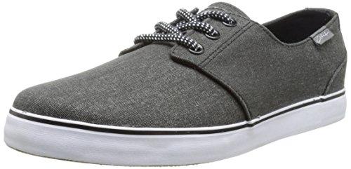 C1RCA Crip Skate Shoe, Black/Charcoal, 8.5 M US