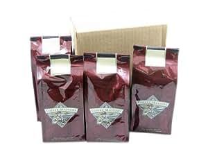 Highlander Grogg Mountain Water Decaffeinated Coffee, Whole Bean (Case of Four 12 ounce Valve Bags)