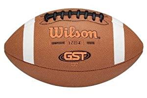 Youth GST™ Composite TDY™ Football from Wilson by Wilson