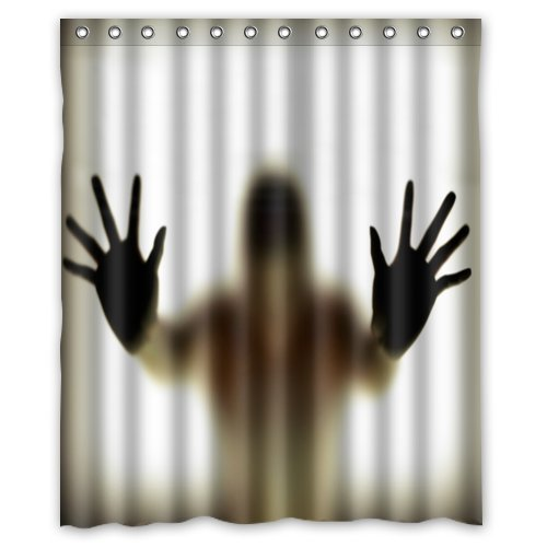scary halloween shower curtains