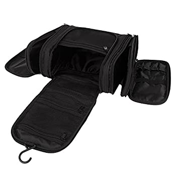 Toiletry Bag, Christmas Gifts, E-BLOOMY Magical Series Hanging Travel Toiletry Organizer with Multi-Functional Large Capacity Five-Doors 2