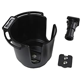 Scotty Cup Holder with Rod Holder Post and Bulkhead/ Gunnel Mount