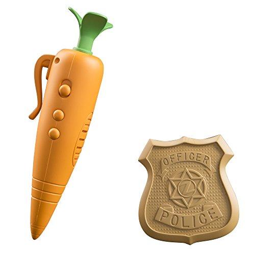 Disney Zootopia - Grabadora zanahoria y placa de policía de Judy (Tomy L70111EN)