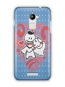 YuBingo We are in Love Mobile Case Back Cover for Coolpad Note 3 Lite