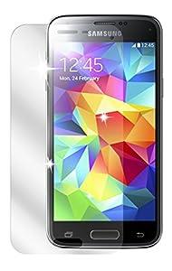 Ecultor Samsung Galaxy S5 mini Schutzfolie (6 Stück) inkl. Tuch und Rakel - klare Premium Folie als Displayschutz