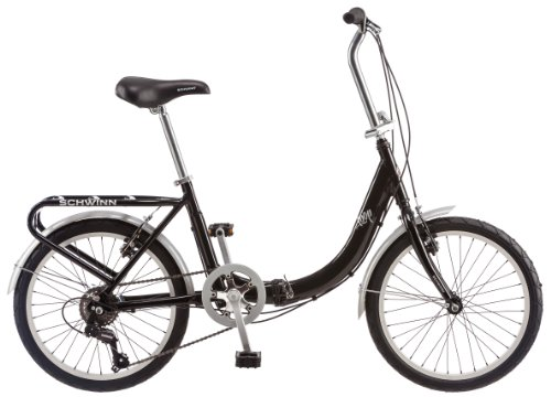 Buy Bargain Schwinn 20-Inch Loop Folding Bike, Black