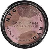 N.Y.C Color Wheel Mosaic Eye Powder Colour: Brown Eyed Girl