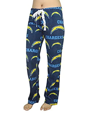 NFL San Diego Chargers WOMENS Polar Fleece Sleepwear Fall / Winter Pajama Pants