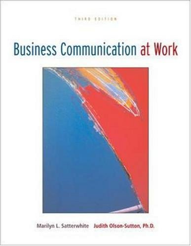 Business Communication at Work with OLC Premium Content Card