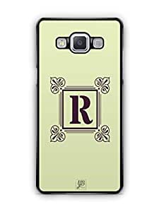 YuBingo Monogram with Beautifully Written letter R Mobile Case Back Cover for Samsung Galaxy A5