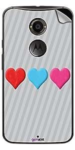 GsmKart MX2 Mobile Skin for Motorola X2 (Silver, X2-320)