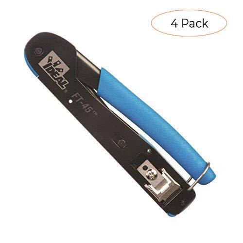 Ideal 30-495 FT-45 Feed Thru Modular Plug Crimp Tool (F?ur ???k) (Tamaño: F?ur ???k)