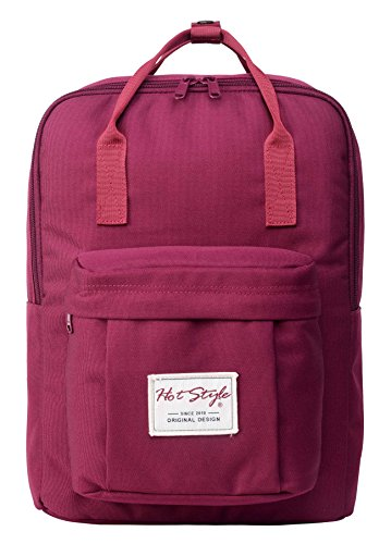 cute-convertible-backpack-for-girls-hotstyle-waterproof-schoolbag-16l-red