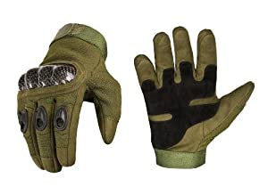 INVADER GEAR RAPTOR REINFORCED TACTICAL GLOVES OD