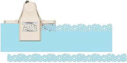 Martha Stewart Crafts 2-in-1 Deep Edge Paper Punch Zinnia