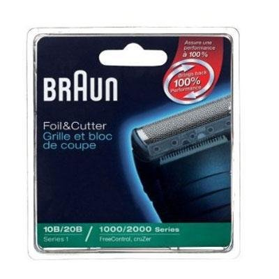 Braun Replacement Foil and Block, 1000 2000 For Free Control and Cruzer Shavers (Packaging may vary) (Braun Series 1000 Foil And Cutter compare prices)
