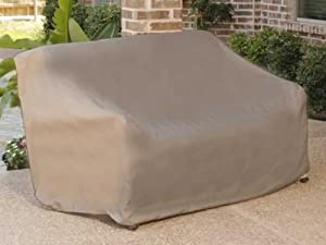 Outdoor Sofa Covers Sofa 84 X 42 X 40 Khaki Polyester by The Cover Store
