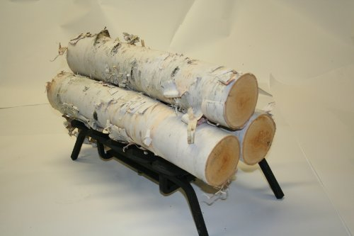Set of 3 Large Birch Logs picture