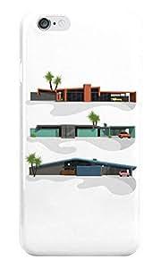 Dreambolic Midcentury Modern Houses Back Cover For I Phone 6