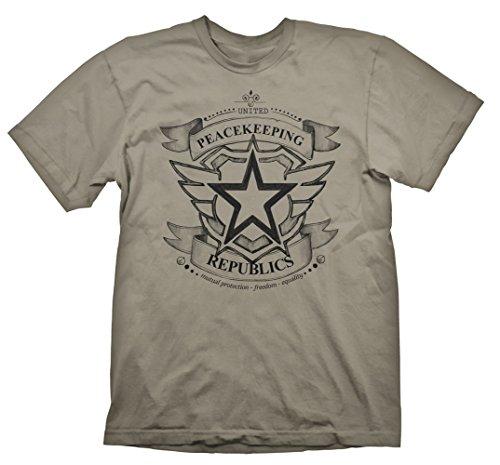 Battleborn uniti Pace Repubbliche T-shirt dimensioni: grande (Giochi elettronici)