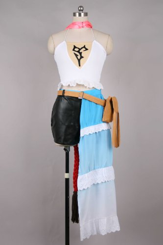 Cosplay Costume L-Large Size Final Fantasy X-2 Yuna Halloween Costume Japanese