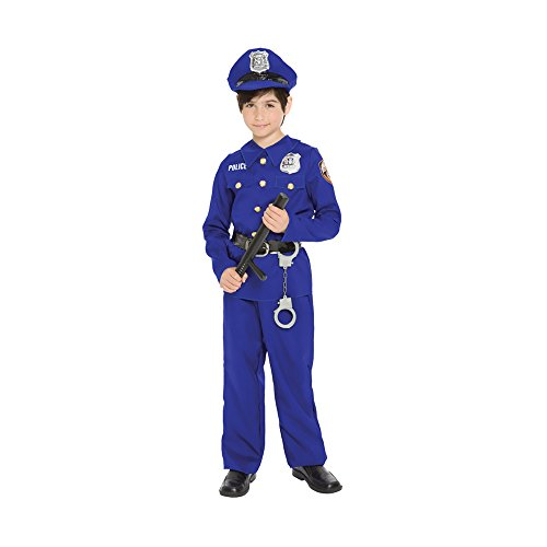 Police Officer Child X Small