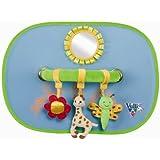 Vulli Puériculture - Accessoire - Set de 2 pare-soleil avec arche activités Sophie la Girafe