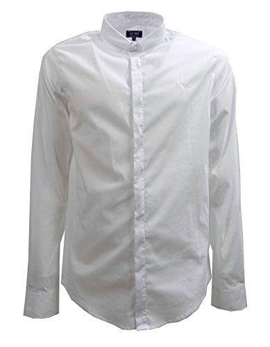 Camicia uomo Armani Jeans, extra slim fit, bianca, art: C6C13NL (L, Bianco)