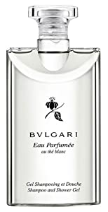 Bvlgari au the blanc (white tea) Shampoo and Shower Gel 2.5oz Set of 6
