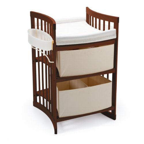 Babies R Us Changing Table Dresser Nursery Changing Table – Stokke Care Changing Table, Walnut Brown ...