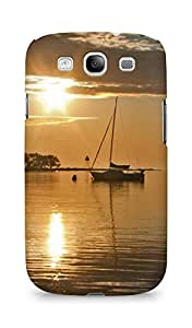 Amez designer printed 3d premium high quality back case cover for Samsung Galaxy S3 Neo (Coast Beach Line Evening)